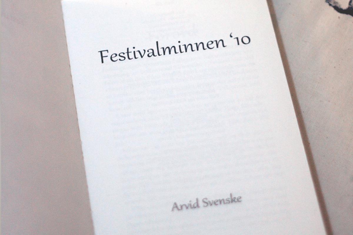 Festivalminnen '10